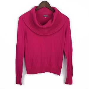 Vince Camuto Pink Cowl Neck Sweater | SP